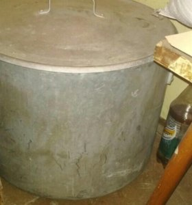 Алюминиевая кастрюля 50 литров