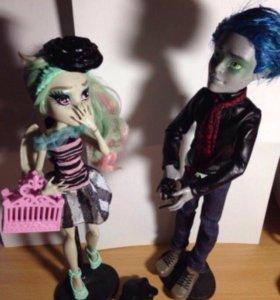 Оригинальные куклы monster hagh
