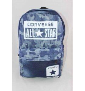 Новые рюкзаки converce (цвет синий хаки)