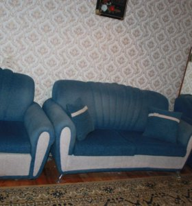 Мягкий уголок (диван + 2 кресла)
