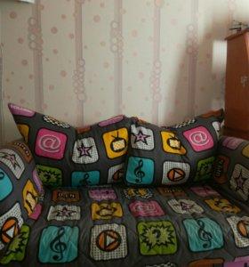 Продам диван ширина 1м 20с