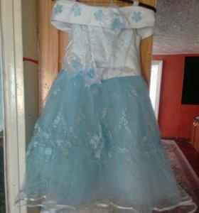 Платье для девочки от 7лет