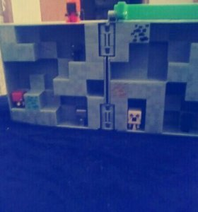 Коробочка для игрушек Minecraft