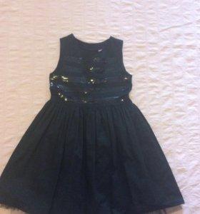 Платье праздничное с подъюбником