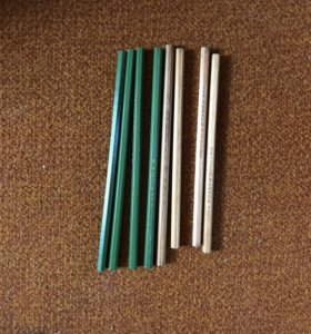 Новые простые карандаши