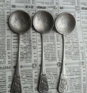 Царские ложки серебро