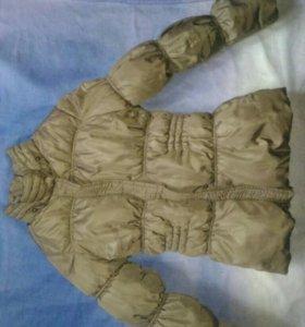 Куртка девичья демисезонная