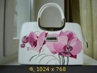 Роспись сумок акриловыми красками!!!!!!!