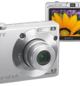 Фотоаппарат sony dsc-w50