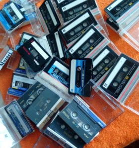 Японские кассеты TDK,Sony,Denon,Maxell,Basf