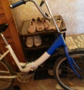 Веласипед нодо поминять диску заднию за 750 рублей