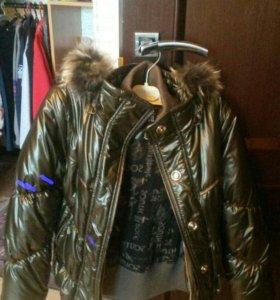 Куртка новая на девочку