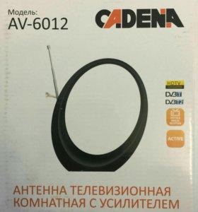 КОМНАТНАЯ антенна С УСИЛИТЕЛЕМ CADENA AV-6012