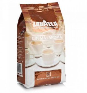 Кофе в зёрнах Lavazza Crema e Aroma 1 кг.