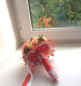 Осенний букет для учителя.