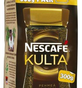 Кофе растворимый Nescafe Kulta 300 грамм Финский