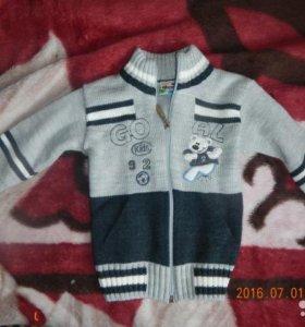 Модный свитер на мальчика 1.5 года