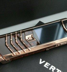 Vertu Signature S Design Brown Alligator