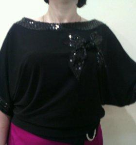 Блузка, юбка 50-52 размер