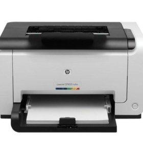 Принтер HP Color LaserJet Pro CP1025