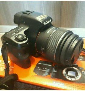 Зеркальная камера Sony Alpha SLT-A37K Kit 18-55mm