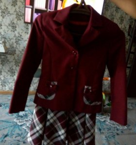 Сарафан пиджак и юбка