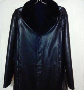 Натуральная кожаная куртка