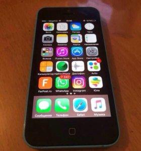 Apple iphone 5c 16Gb Blue RU - офиц. модель