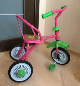 Велосипед детский трехколёсный Светлячок 1+