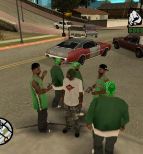GTA SA на PS2
