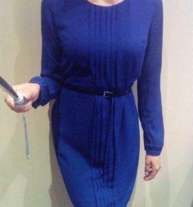 Синее платье INCITY