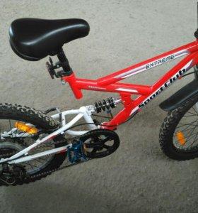 Велосипед красный SportClub