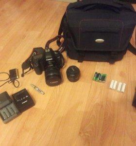 Canon 5d mark 2 + 2 объектива+ вспышка+ сумка