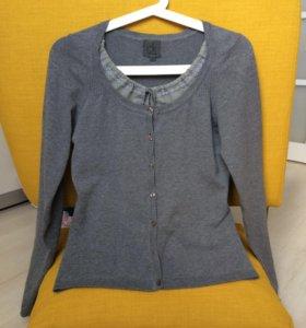 Джемпер кардиган кофта блуза женская 42-44 S