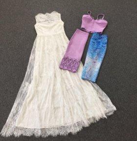 Платье костюм юбка