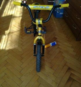 Велосипед детский для мальчика, 16 радиус колёс