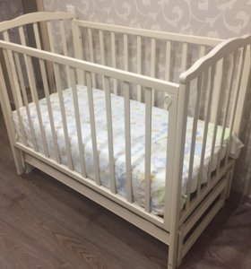 Кроватка детская + матрас
