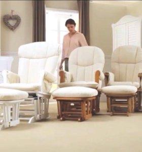 Кресло-качалка для мамы для кормления