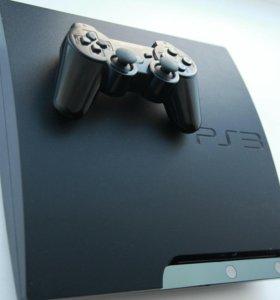 Sony Playstation 3 slim-120 gb(прошита)