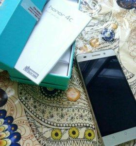 Смартфон Honor 4c 8 ГБ золотистый