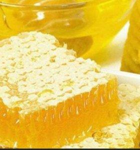 Мёд(с личной пасеки)