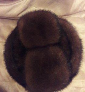 Мужская норковая шапка
