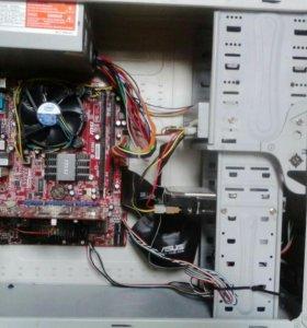 системный блок 2 ядра с видеокартой