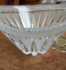 Салатник ваза конфетница хрусталь