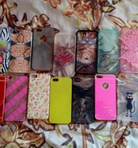 Чехлы на телефон iPhone 5s