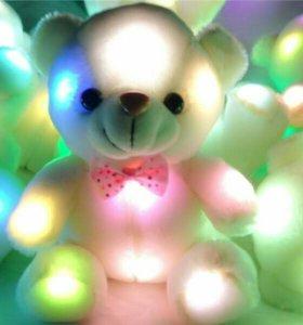 Мягкая игрушка-ночник медвежонок