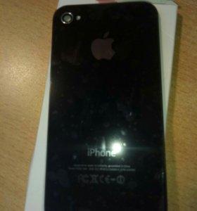 Задняя крышка на iphone 4s