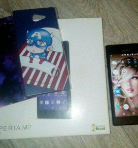 Телефон Sony Xperia m2 dual