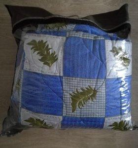 Новый комплект из  2 одеял - 1,5 спал.