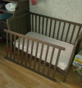 Детская кроватка.IKEA